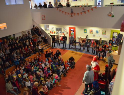Sinterklaas op de Ruyterschool