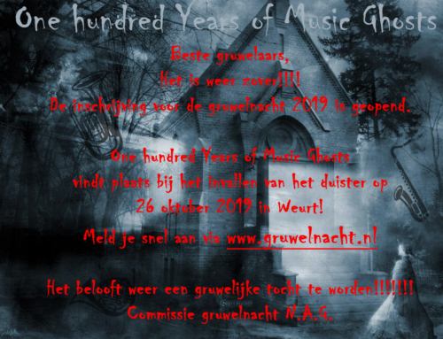 Gruwelnacht – one hunderd years of music ghosts