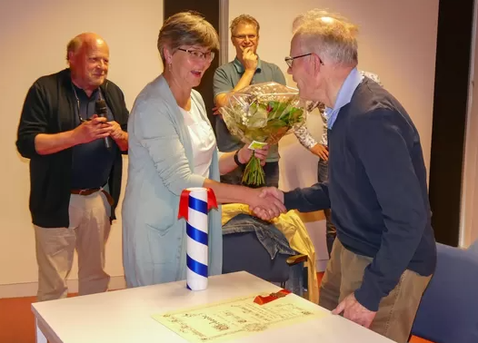 Jan Hendriks benoemd tot Erelid